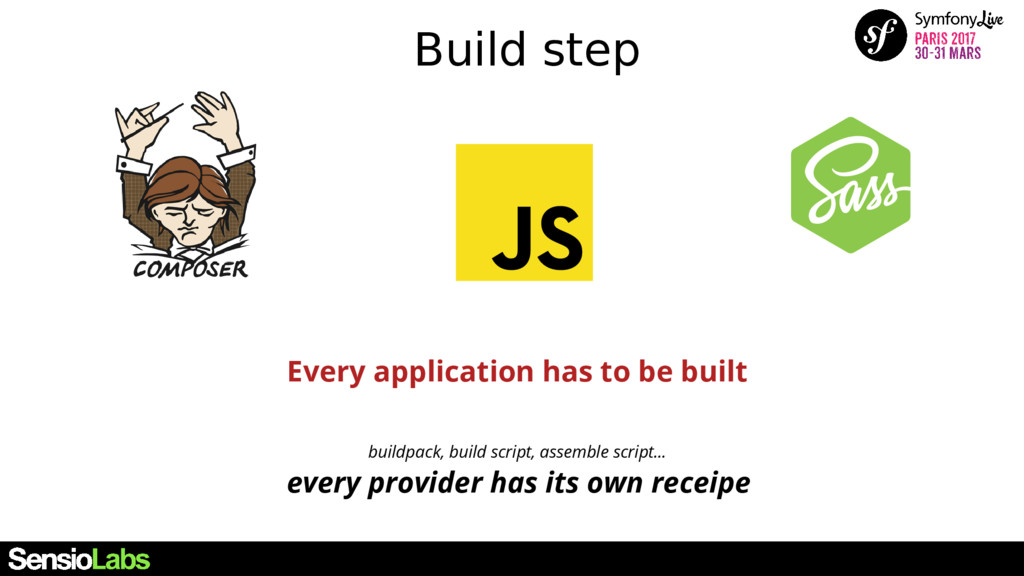 Build step Every application has to be built bu...