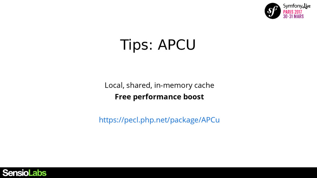 Local, shared, in-memory cache Free performance...