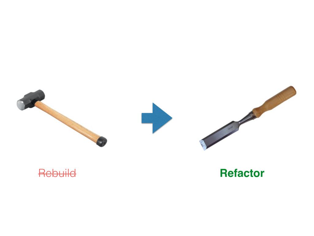 Rebuild Refactor
