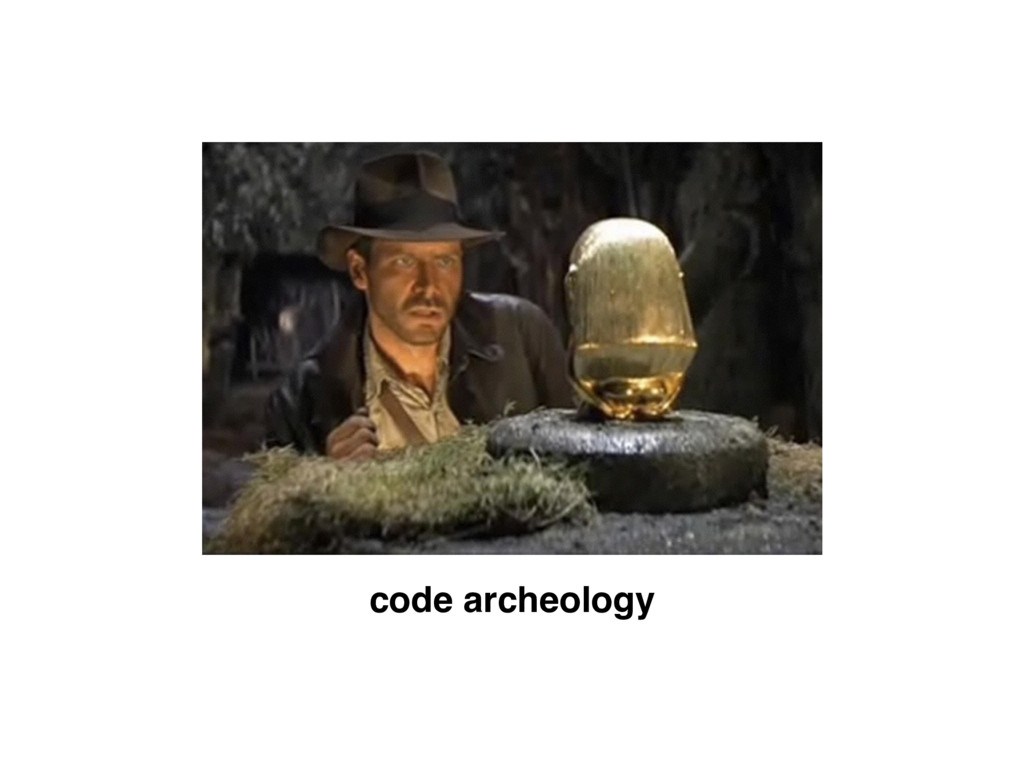 code archeology