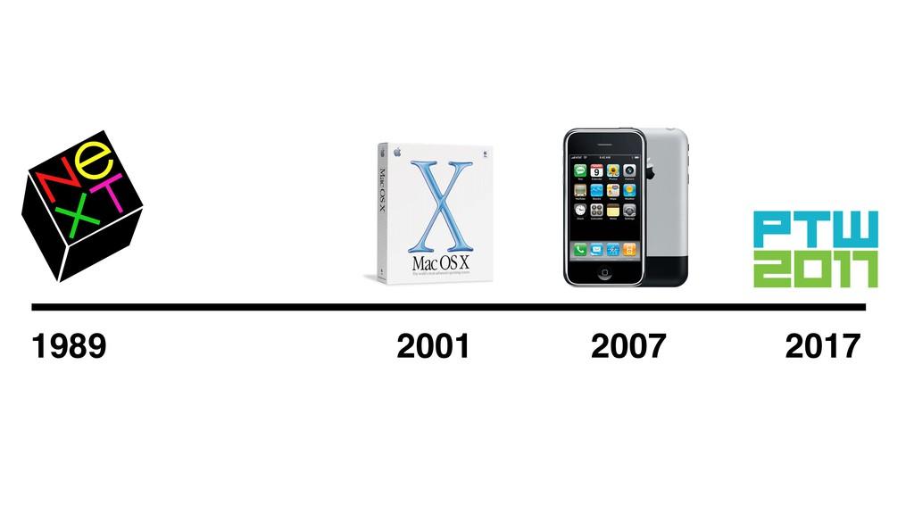 2017 1989 2001 2007