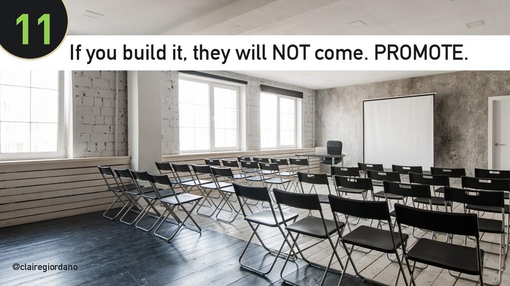 @clairegiordano 11 @clairegiordano If you build...