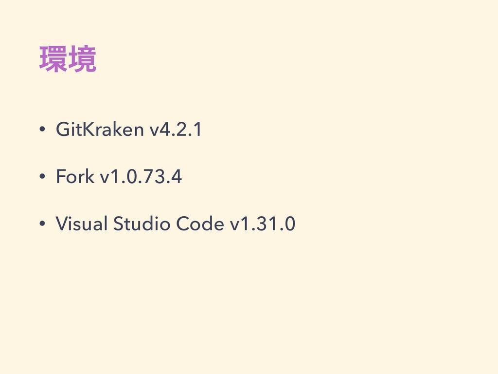ڥ • GitKraken v4.2.1 • Fork v1.0.73.4 • Visual...