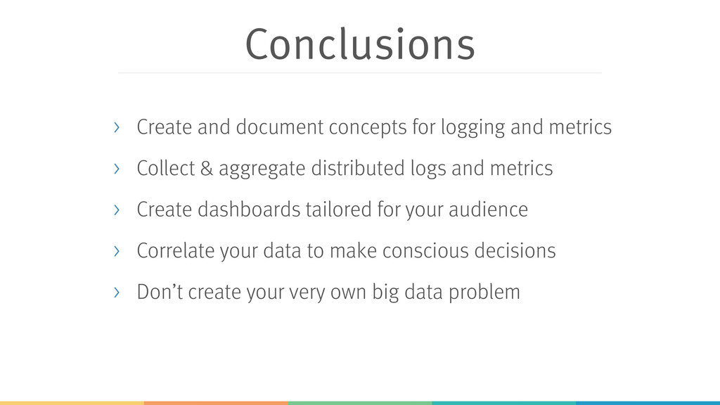 Conclusions > Create and document concepts for ...