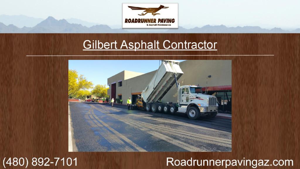 Gilbert Asphalt Contractor