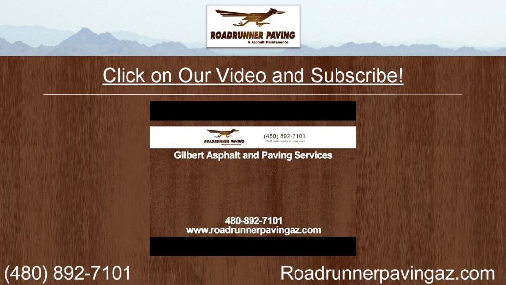 Click on Our Video and Subscribe!