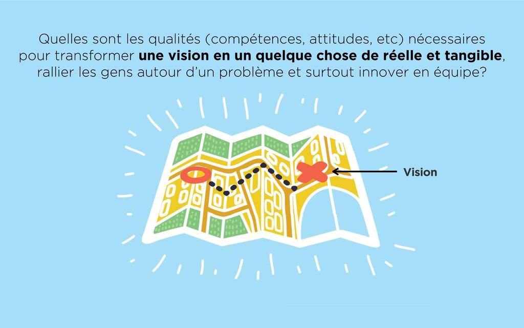 Vision Quelles sont les qualités (compétences, ...