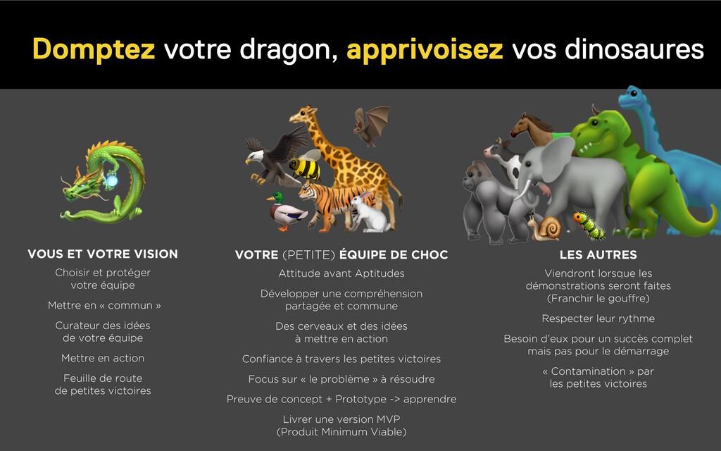 Domptez votre dragon, apprivoisez vos dinosaure...