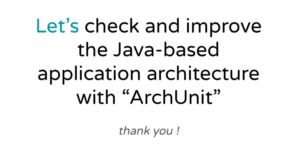 thank you ! Let's check and improve the Java-ba...