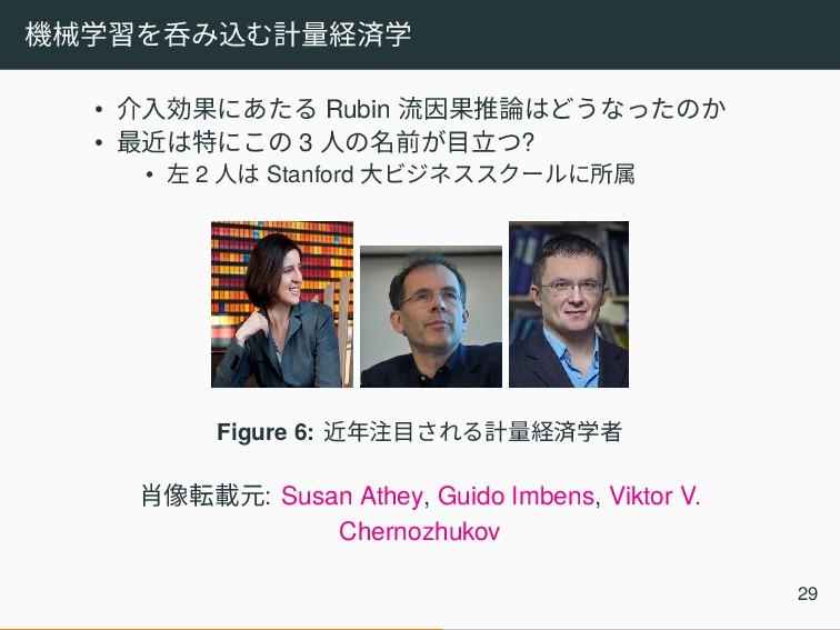 機械学習を呑み込む計量経済学 • 介入効果にあたる Rubin 流因果推論はどうなったのか •...