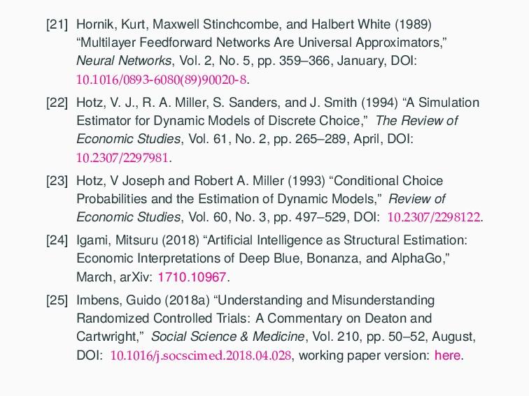[21] Hornik, Kurt, Maxwell Stinchcombe, and Hal...