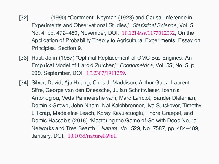 """[32] (1990) """"Comment: Neyman (1923) and Causal ..."""