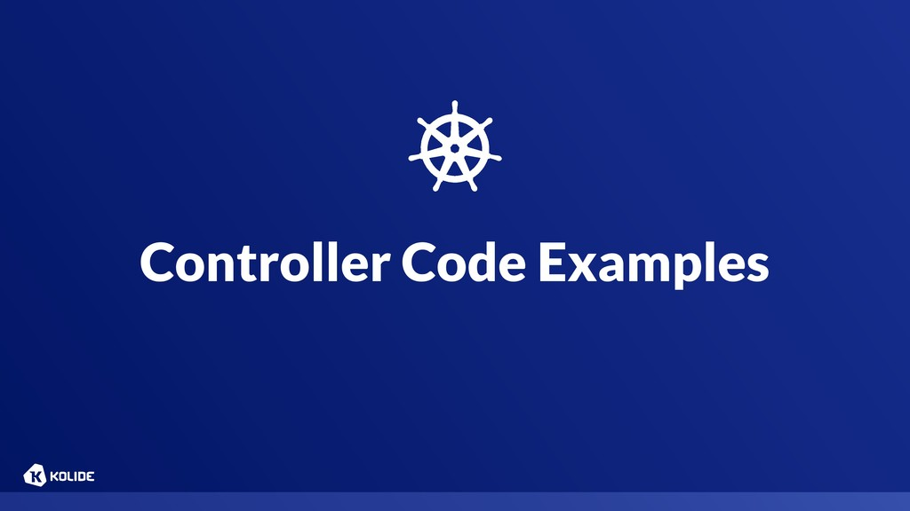 Controller Code Examples