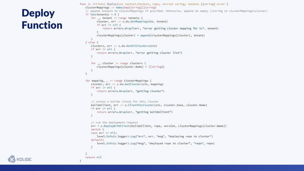 Deploy Function func (c *Client) Deploy(ctx con...