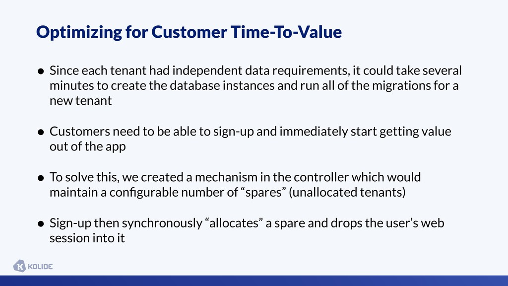 Optimizing for Customer Time-To-Value • Since e...