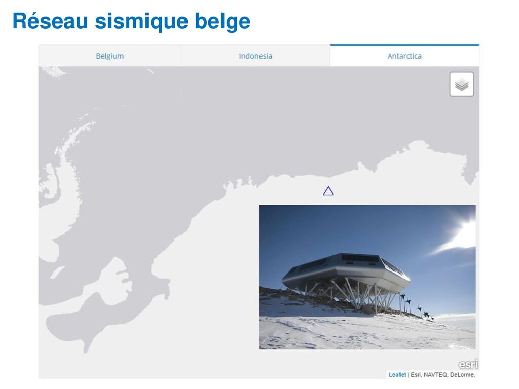 Réseau sismique belge