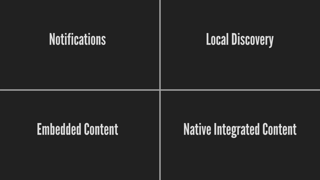 Native Integrated Content Notifications Local ...