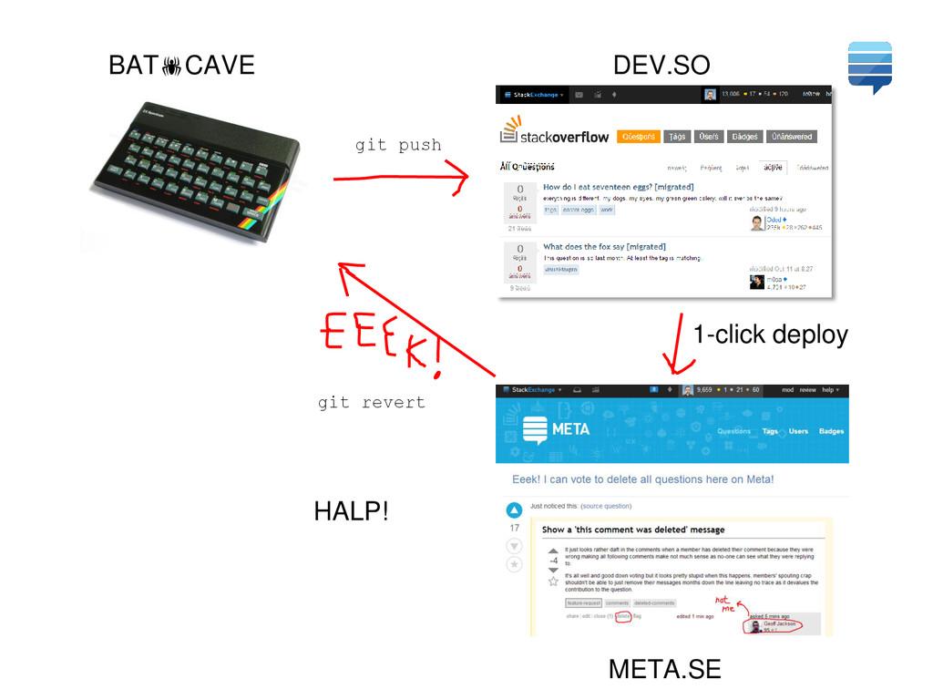 BATCAVE DEV.SO META.SE 1-click deploy HALP! gi...