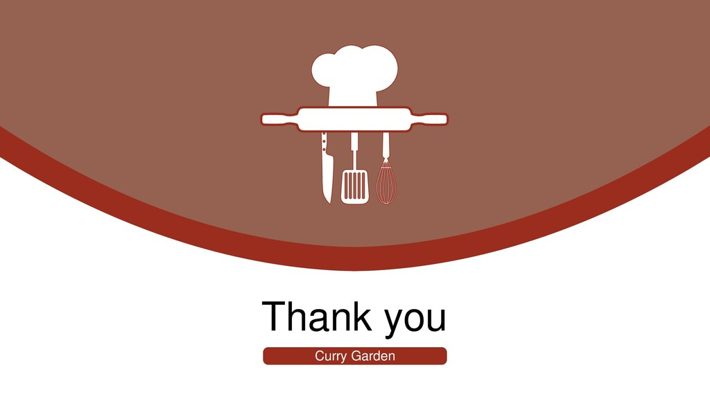 Thank you Curry Garden