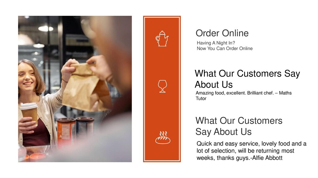 Order Online Having A Night In? Now You Can Ord...