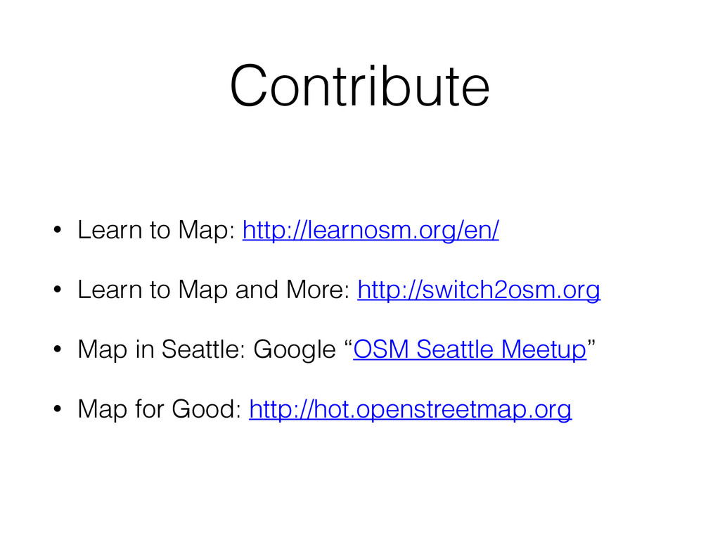 Contribute • Learn to Map: http://learnosm.org/...