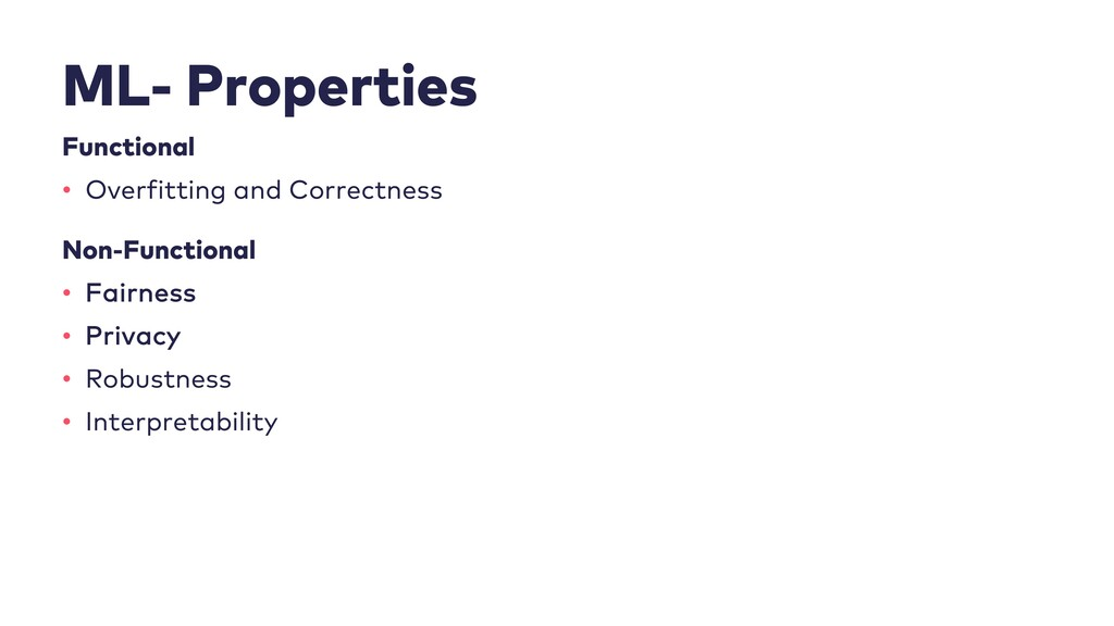 ML- Properties Functional • Overfitting and Cor...