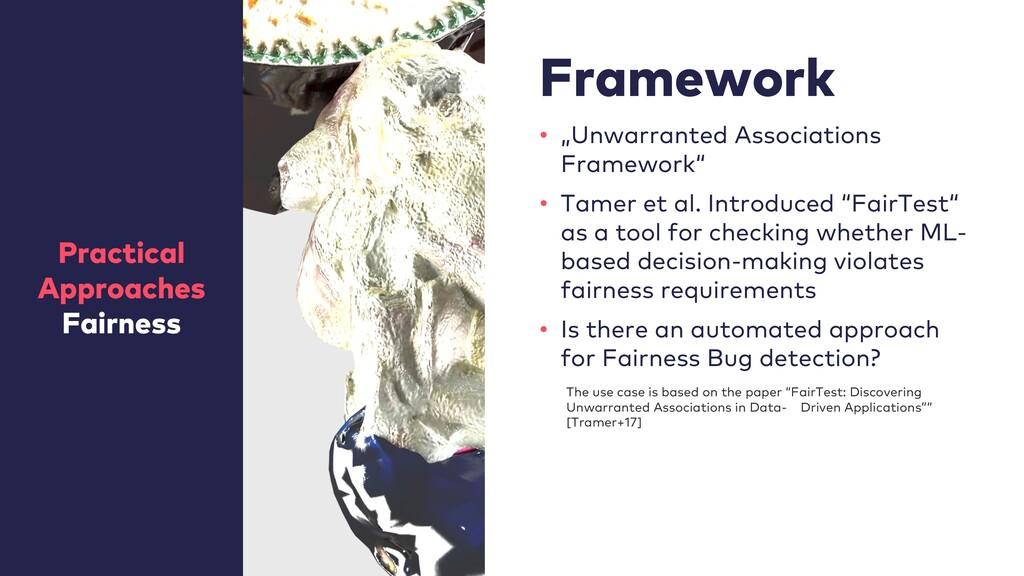 "Framework • ""Unwarranted Associations Framework..."
