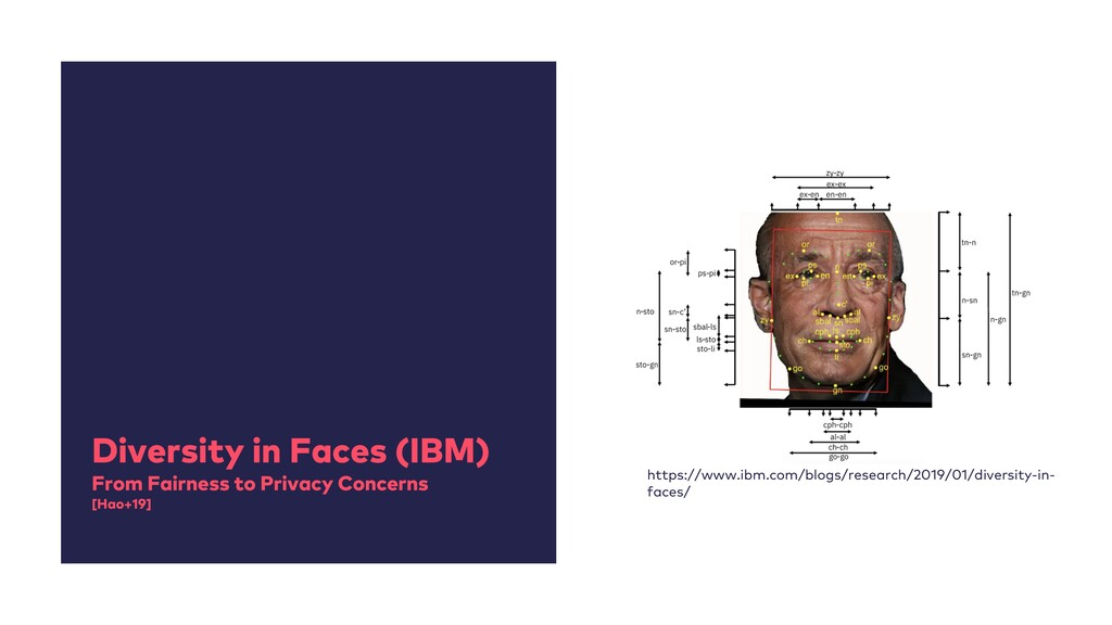 Diversity in Faces (IBM) From Fairness to Priva...