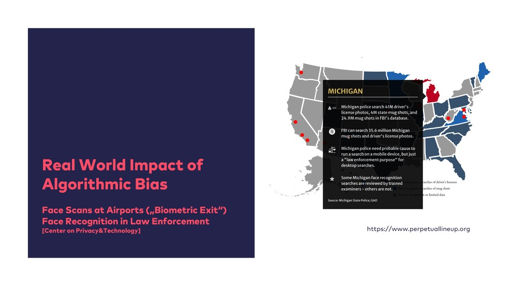 Real World Impact of Algorithmic Bias Face Scan...