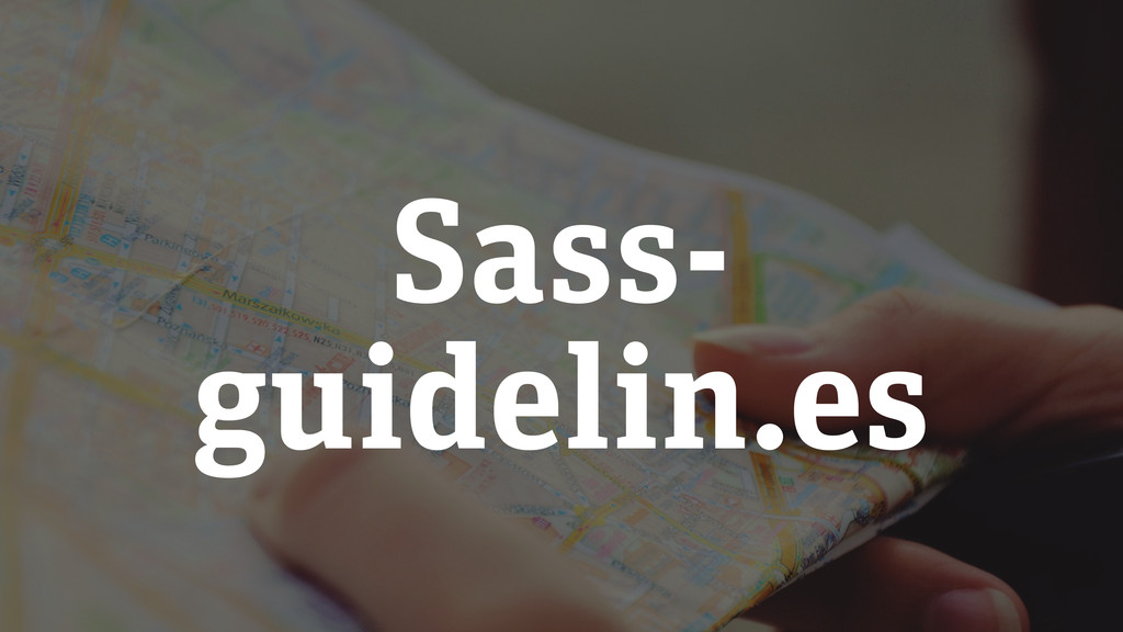 Sass- guidelin.es