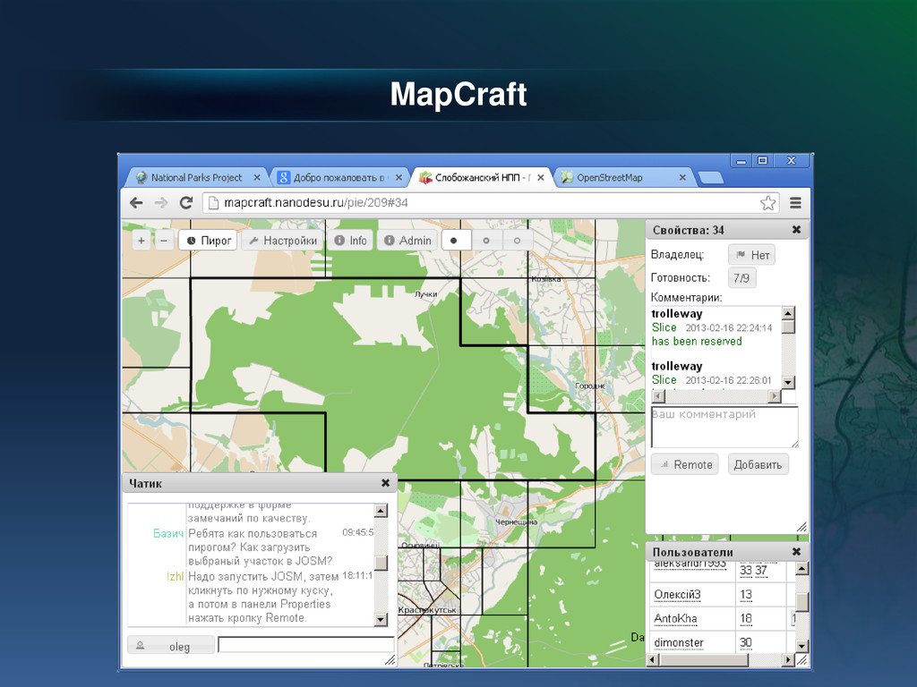MapCraft