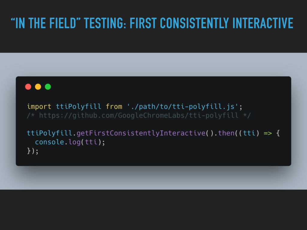 """IN THE FIELD"" TESTING: FIRST CONSISTENTLY INTE..."