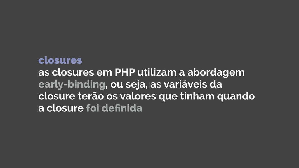 closures