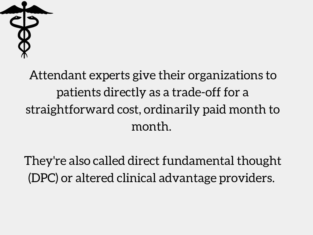 Attendant experts give their organizations to p...