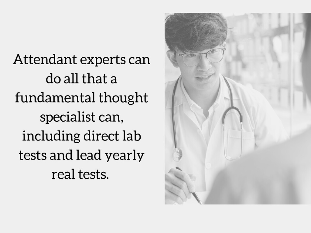 Attendant experts can do all that a fundamental...