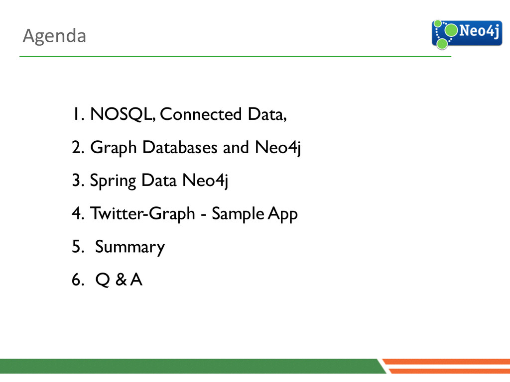 1. NOSQL, Connected Data,   2. Graph Database...