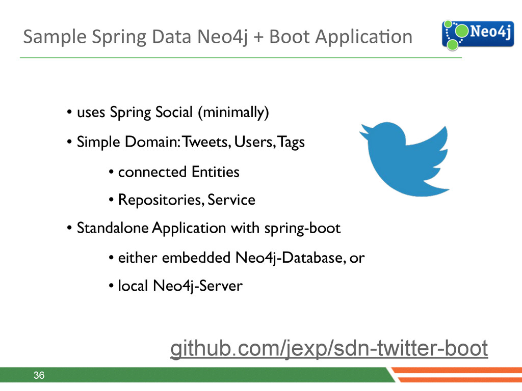 Sample Spring Data Neo4j + Boot...