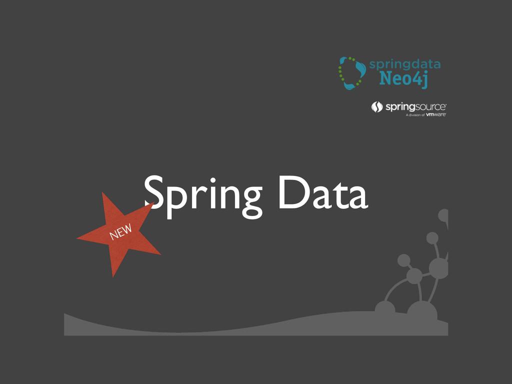 Spring Data NEW