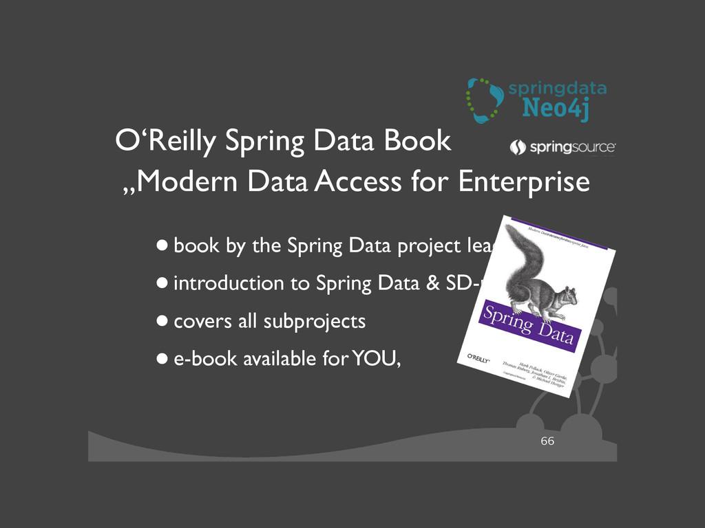 "66 O'Reilly Spring Data Book ""Modern Data Acce..."