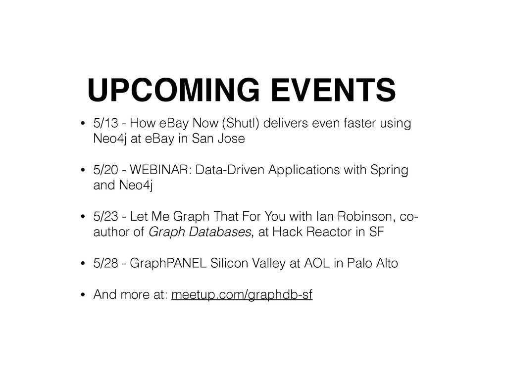 • 5/13 - How eBay Now (Shutl) delivers even fas...