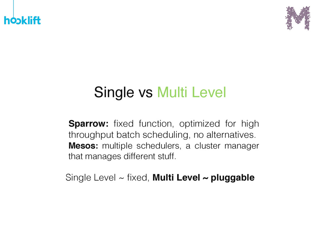 Sparrow: fixed function, optimized for high thro...
