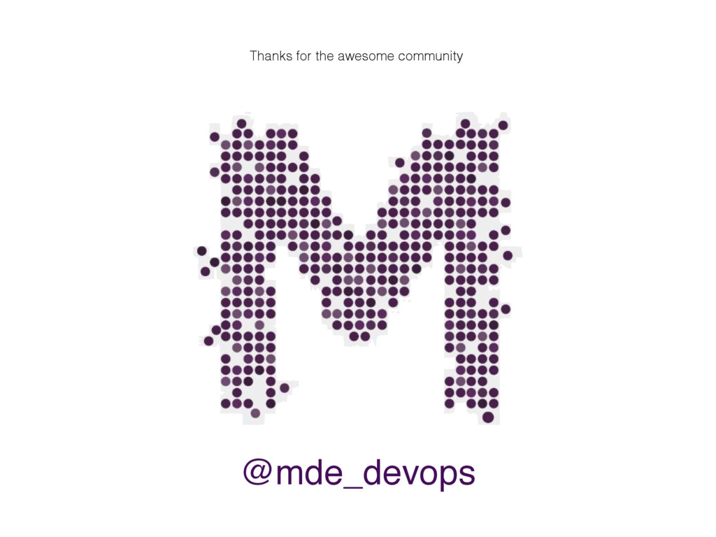@mde_devops Thanks for the awesome community