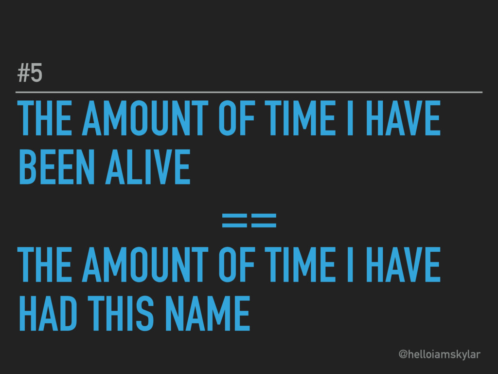 @helloiamskylar THE AMOUNT OF TIME I HAVE BEEN ...