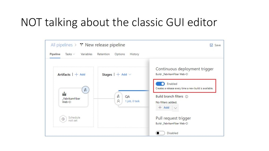 NOT talking about the classic GUI editor