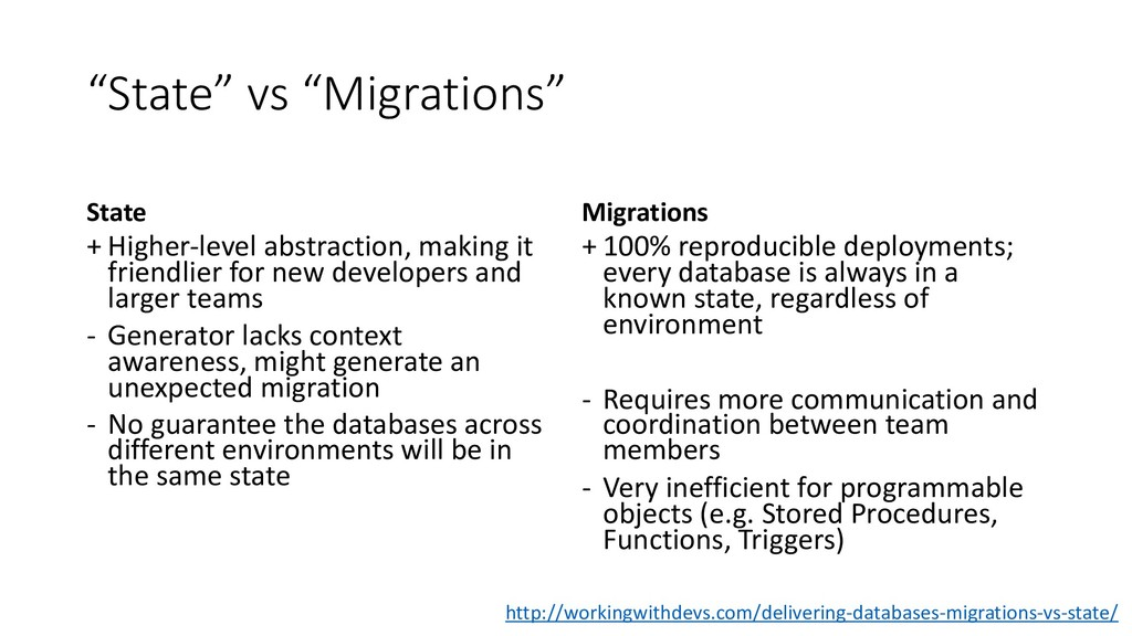"""State"" vs ""Migrations"" State + Higher-level ab..."