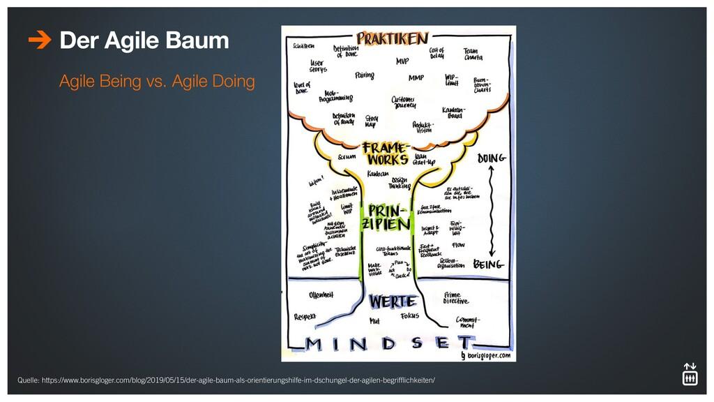 Der Agile Baum Agile Being vs. Agile Doing Quel...