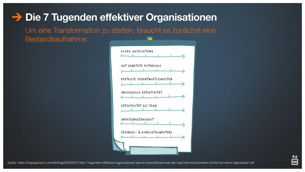 Die 7 Tugenden effektiver Organisationen Um ein...