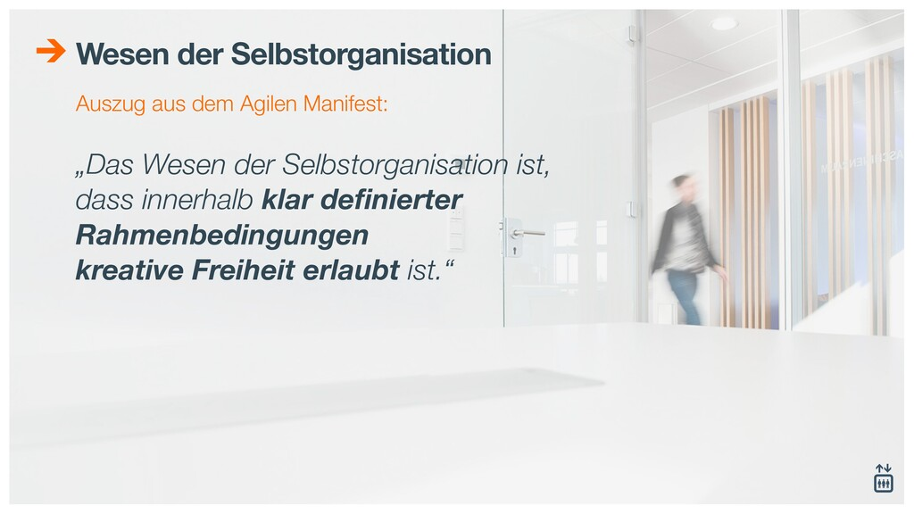 """Wesen der Selbstorganisation """"Das Wesen der Sel..."""
