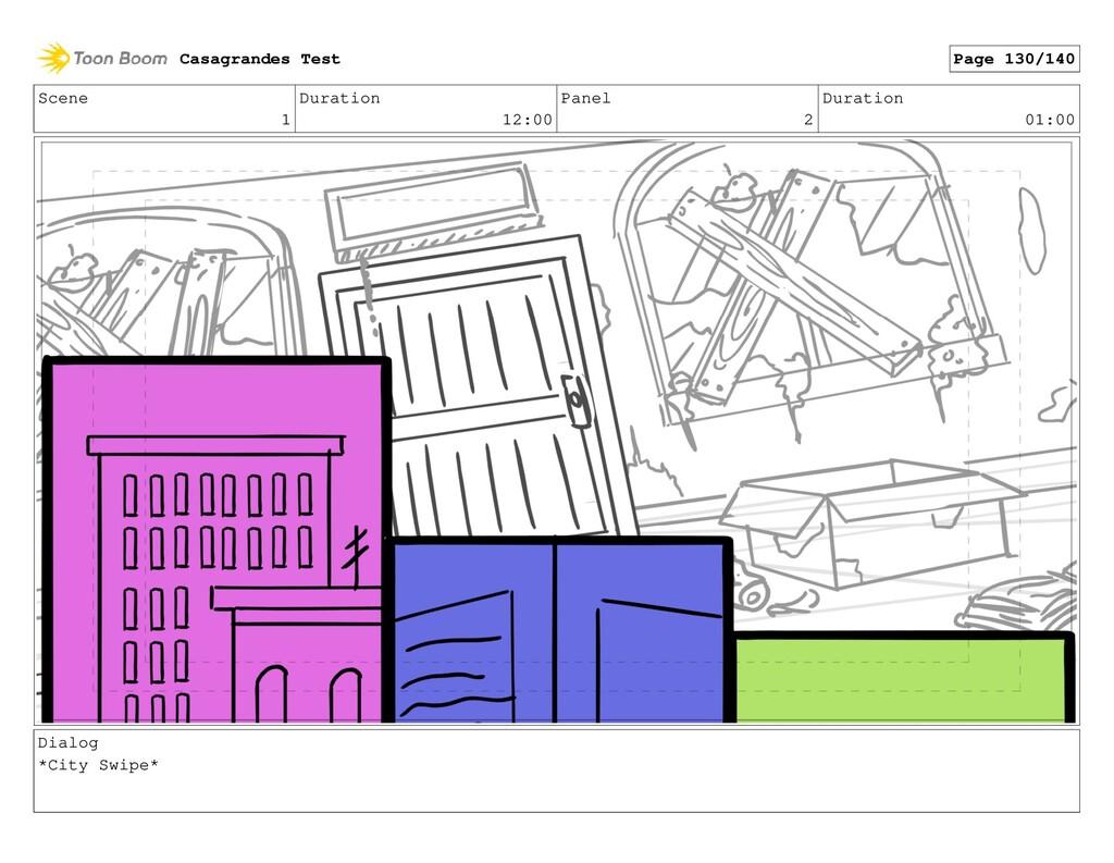Scene 1 Duration 12:00 Panel 2 Duration 01:00 D...