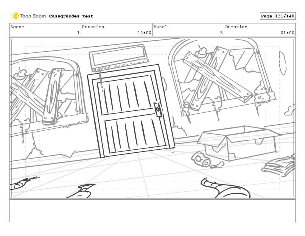 Scene 1 Duration 12:00 Panel 3 Duration 01:00 C...